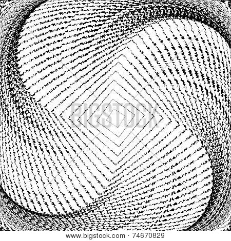 Design Monochrome Whirlpool Movement Geometric Background
