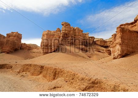 Valley Of Castles In Sharyn Canyon