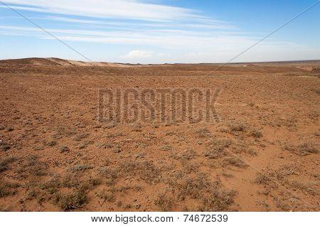 Desert  In Kazakhstan
