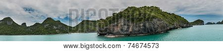 Panorama Koh Samui Ang Thong Islands National Park