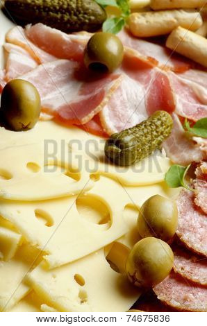 Swiss Cheese and Deli Meats