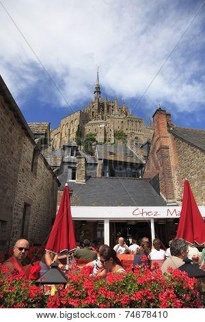 Terrace At Mont Saint Michel