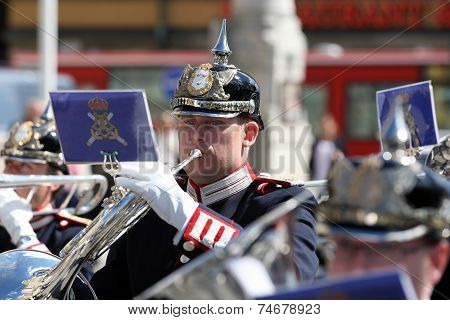 Musician with ''French Horn''