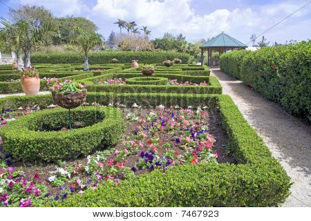 Tropical Formal Gardens
