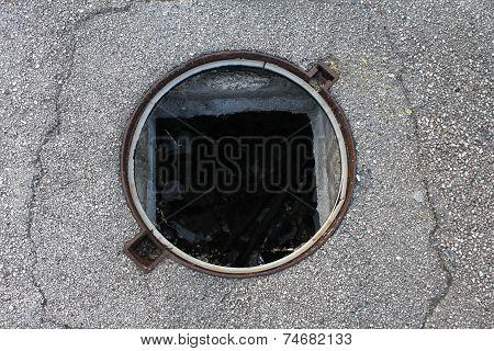 Street hole
