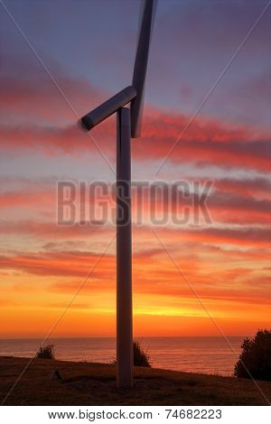 Premonition Of Wind At Sunrise