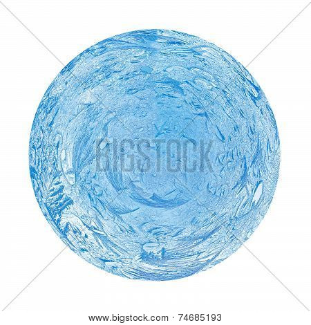 Blue Ball Of Frost