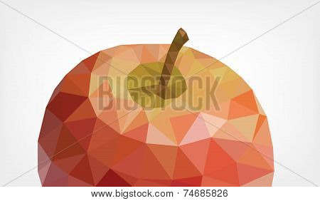 Low Poly Apple