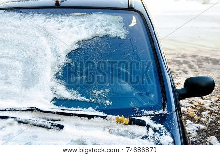 Frozen Car