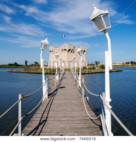 Redoute de Ballestras watchtower at Palavas les Flots