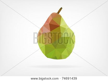 Low Poly Pear