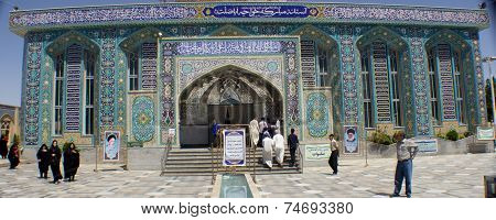The shrine of Khwaja Abasalt