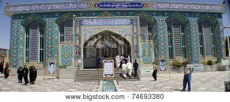 The shrine of Khwaja Abasalt