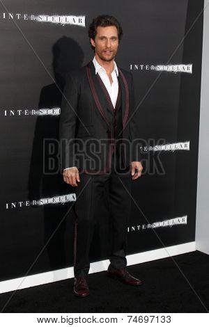 LOS ANGELES - OCT 26:  Matthew McConaughey at the