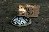 foto of priceless  - Hat homeless outdoors - JPG