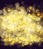 picture of merry chrismas  - chrismas  background with golden beams and sparkles - JPG