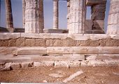 foto of poseidon  - The Temple of Poseidon - JPG