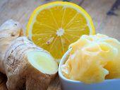 foto of rhizomes  - Time for make ginger tea - JPG
