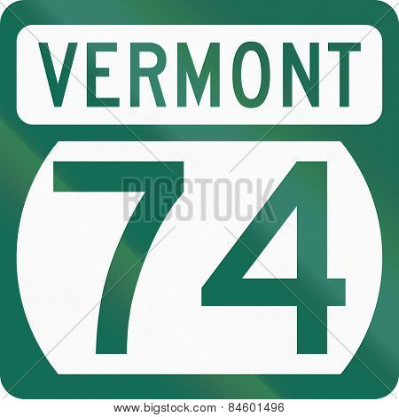 United States Vermont State Highway