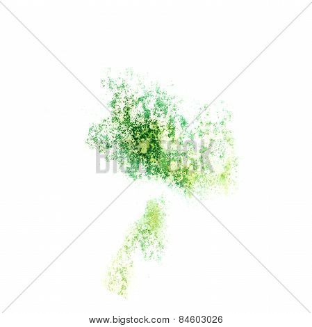 Abstract watercolor background green for your design insult