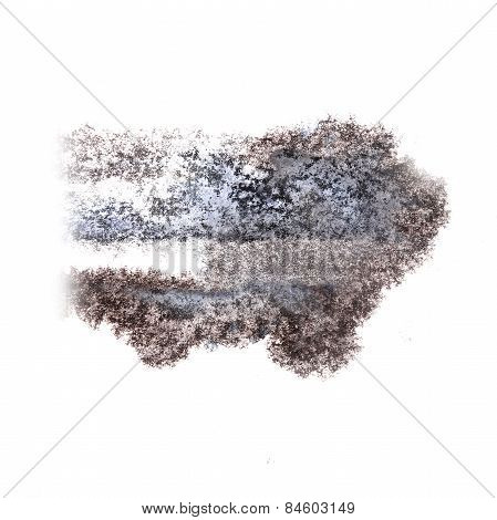 Abstract watercolor background lilac, black for your design insu