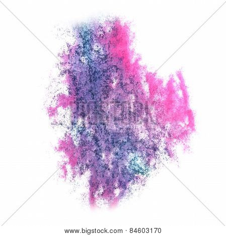 Abstract watercolor background lilac, purple for your design ins