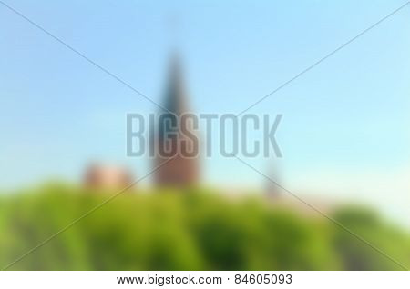 Tower Blurred