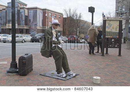 Asheville Street Performer