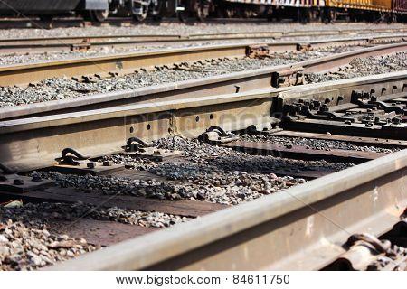 Railroal tracks
