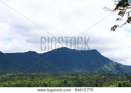 Mountain ranges in Sri Lanka