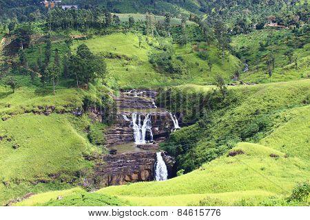 Sri Lanka, falls St Clair