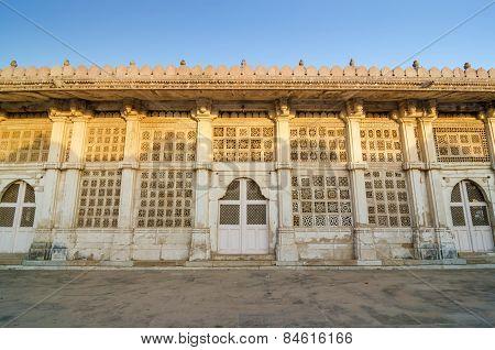 Facade Of Sarkhej Roza Mosque, Ahmedabad