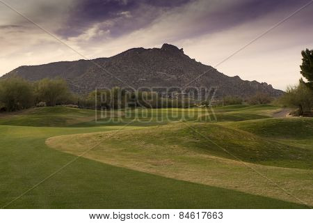 Golf course in Scottsdale Arizona,USA