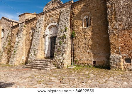 Old church in Sovana, Tuscany