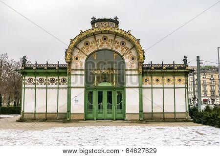 Karlsplatz Stadtbahn Station In Vienna