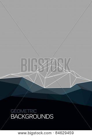 Vector Geometric Polygon Background