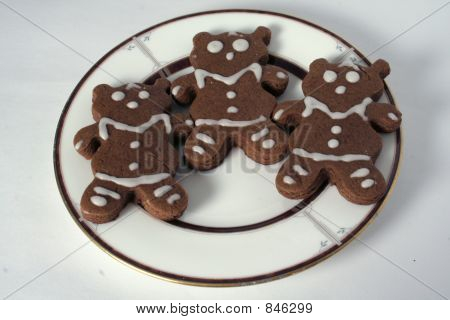 Ginger Bears, Iced