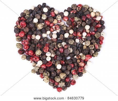 Isolated Pepper Heart