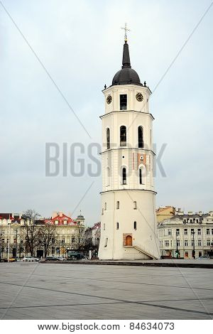 Vilnius Cathedral Belfry Is The Heart Of Lithuanian Capital
