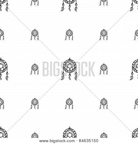 Vector background for dream catcher