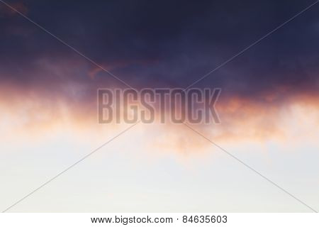 Pastel Colour Sunset