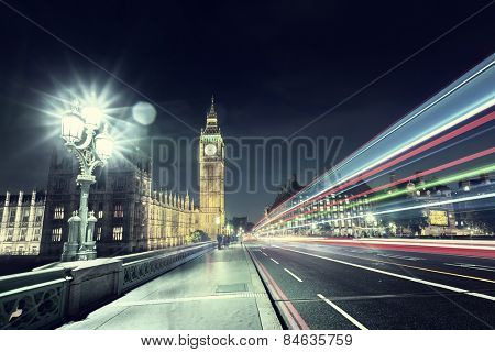 Big Ben from Westminster Bridge, London