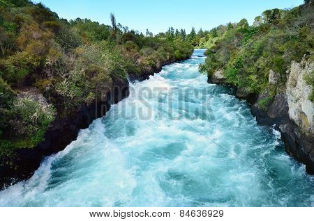 New Zealand - Travel Photos - Huka Falls