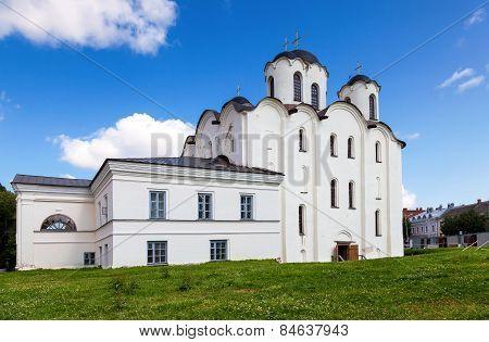 Saint Nicholas Cathedral In Veliky Novgorod. Russia