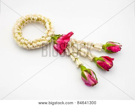 Crown Flowers And Roses Garland