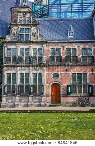 Historical House At The Martinihof In Groningen