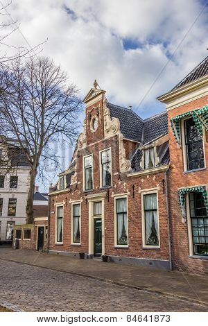 Old House At The Martinihof In Groningen