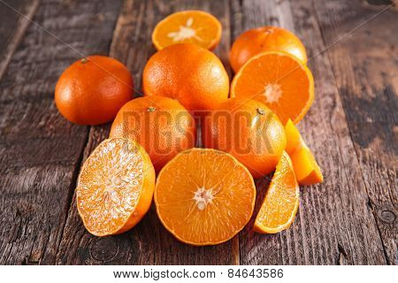 fresh clementine or orange