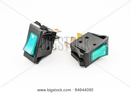 Aqua Rocker Switches With Light