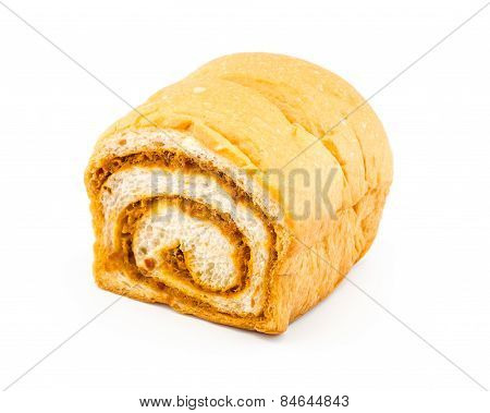 Dried Shredded Pork Roll Bread